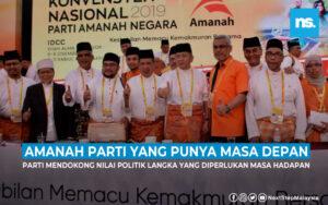 Kenapa saya percaya Amanah merupakan parti yang punya masa depan?