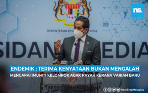 Endemik : Terima kenyataan, bukan bererti mengalah - Khairy