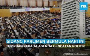 Sidang Parlimen bermula hari ini, tumpuan kepada agenda gencatan politik